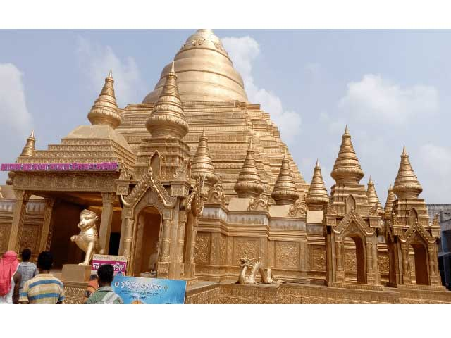 Fiberglass temple