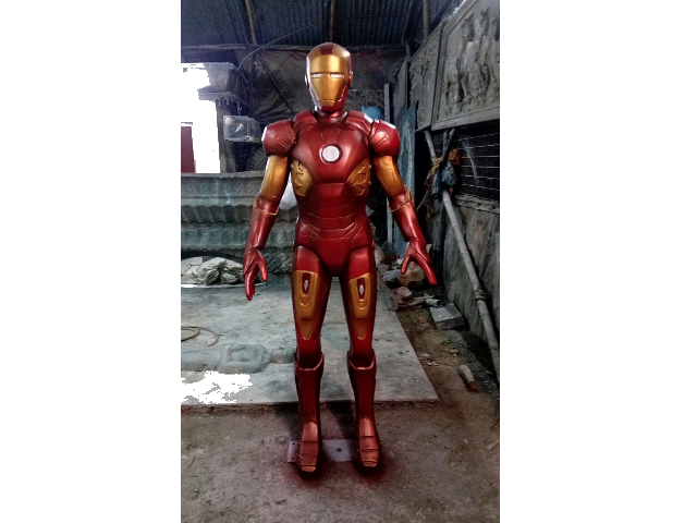 Iron Man Fiber Cartoon Statue
