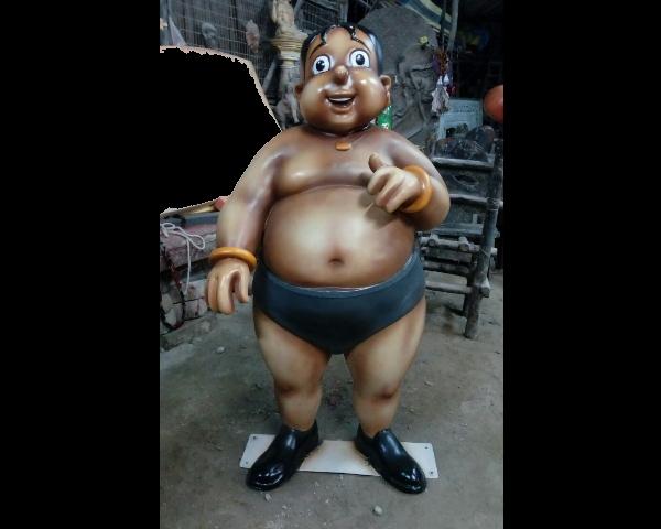 Family Cartoon Statues