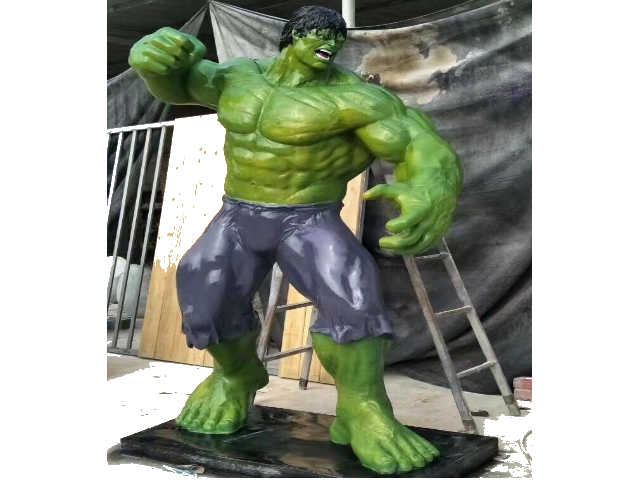 Fiber Hulk Statues