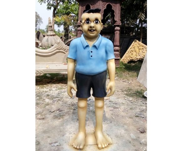 Fiber cartoon statue